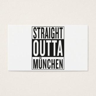 straight outta München Business Card