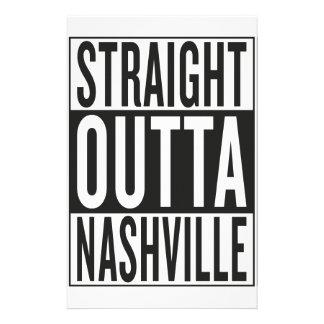 straight outta Nashville Stationery