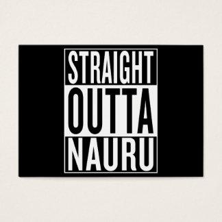 straight outta Nauru Business Card
