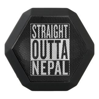 straight outta Nepal Black Bluetooth Speaker