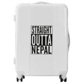 straight outta Nepal Luggage