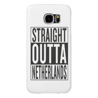 straight outta Netherlands Samsung Galaxy S6 Case