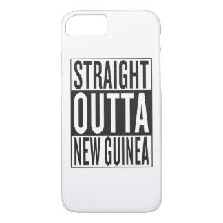 straight outta New Guinea iPhone 8/7 Case