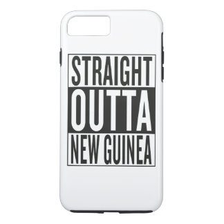 straight outta New Guinea iPhone 8 Plus/7 Plus Case