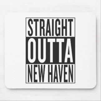 straight outta New Haven Mouse Pad