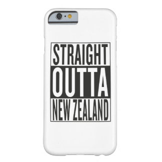 straight outta New Zealand Barely There iPhone 6 Case