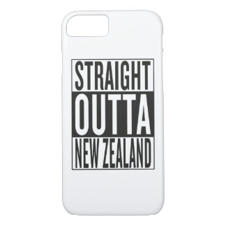 straight outta New Zealand iPhone 8/7 Case