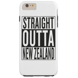 straight outta New Zealand Tough iPhone 6 Plus Case