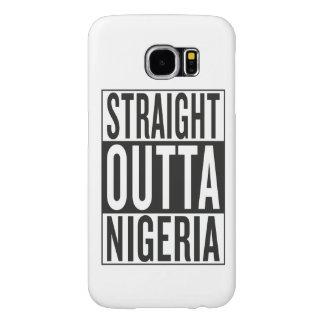 straight outta Nigeria Samsung Galaxy S6 Case