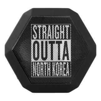 straight outta North Korea Black Bluetooth Speaker