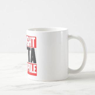 Straight Outta North Pole Coffee Mug