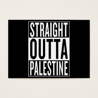 straight outta Palestine Business Card