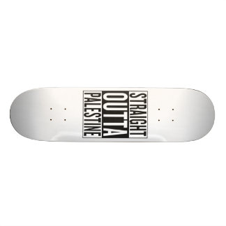 straight outta Palestine Skateboard Deck