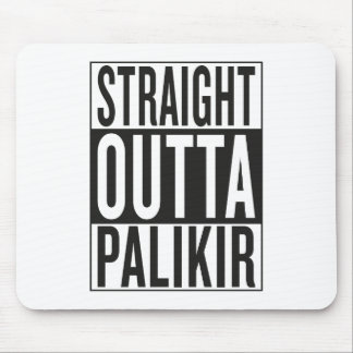 straight outta Palikir Mouse Pad