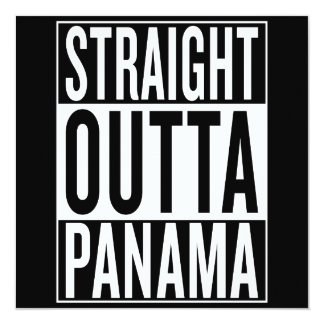 straight outta Panama Card