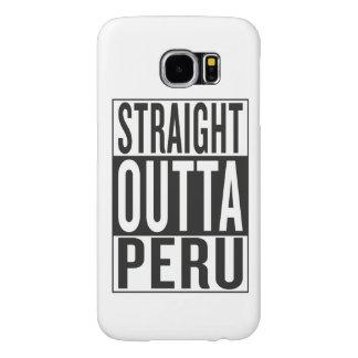 straight outta Peru Samsung Galaxy S6 Case