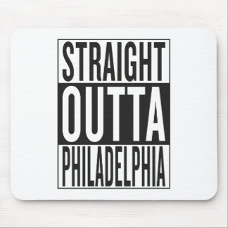 straight outta Philadelphia Mouse Pad