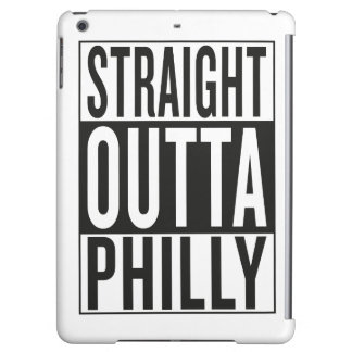 straight outta Philly iPad Air Case