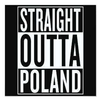 straight outta Poland Card