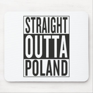 straight outta Poland Mouse Pad