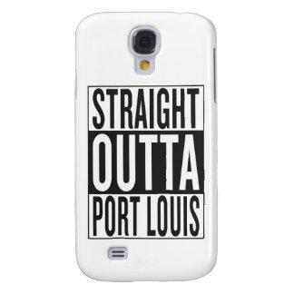 straight outta Port Louis Samsung Galaxy S4 Case