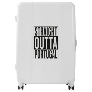 straight outta Portugal Luggage
