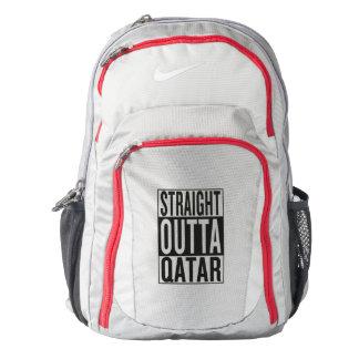 straight outta Qatar Backpack