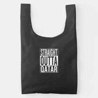 straight outta Qatar Reusable Bag