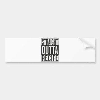 straight outta Recife Bumper Sticker