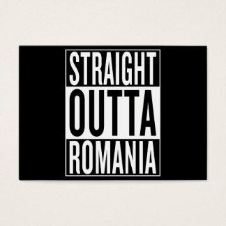 straight outta Romania Business Card