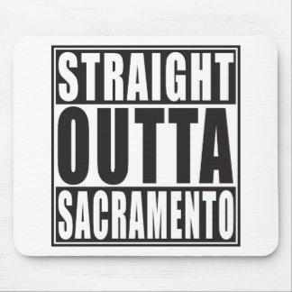 Straight Outta Sacramento California Mouse Pad