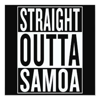 straight outta Samoa Card