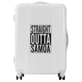 straight outta Samoa Luggage