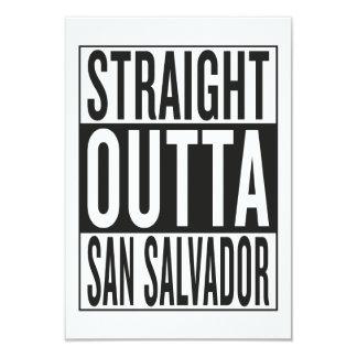 straight outta San Salvador Card