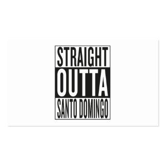 straight outta Santo Domingo Business Card