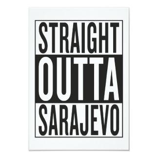 straight outta Sarajevo Card