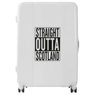 straight outta Scotland Luggage