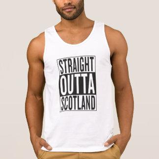straight outta Scotland Tank Top