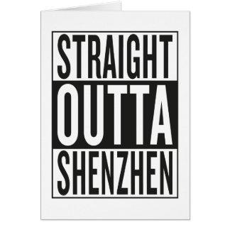 straight outta Shenzhen Card