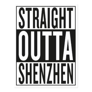 straight outta Shenzhen Postcard