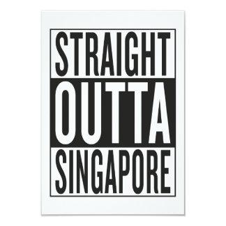 straight outta Singapore Card