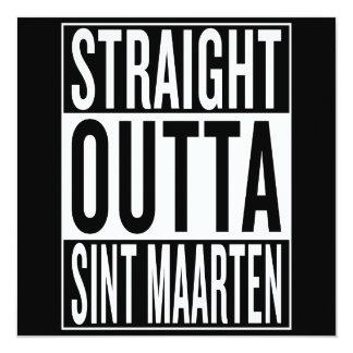 straight outta Sint Maarten Card