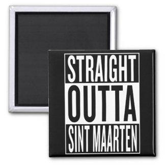 straight outta Sint Maarten Magnet