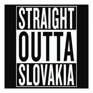 straight outta Slovakia Card