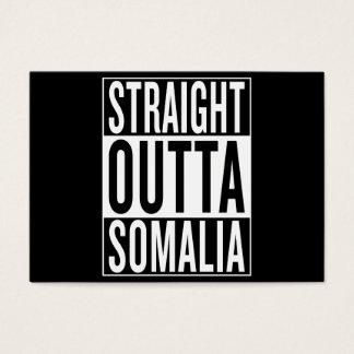 straight outta Somalia Business Card