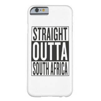 straight outta South Africa Barely There iPhone 6 Case