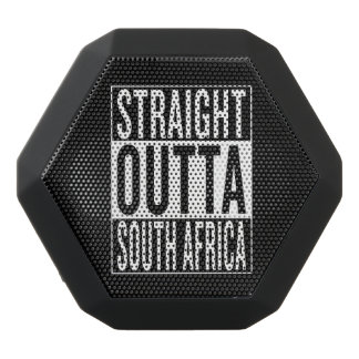 straight outta South Africa Black Bluetooth Speaker