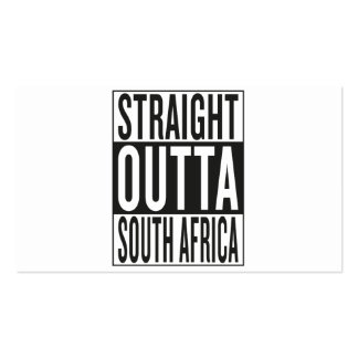 straight outta South Africa Business Card