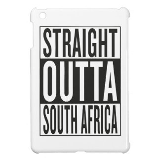 straight outta South Africa iPad Mini Cases