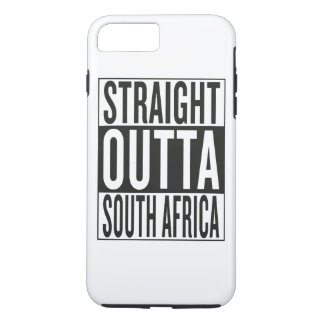 straight outta South Africa iPhone 7 Plus Case
